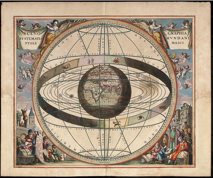 Cellarius Ptolemaic System J. van Loon1660-1