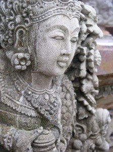 Balinese Stone Guardian