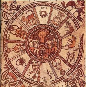 Beit_Alpha Zodiac 6th centuruy Isreal courtesy Nasa