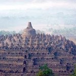 Borobudur, Java - 9th century Buddhist temple