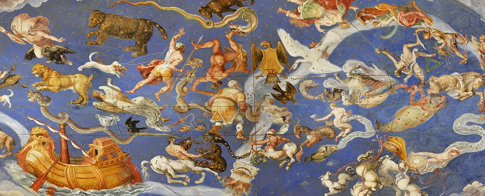 Fresco constellations in Palazzo Farnese (Caprarola) for slider