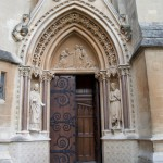 Exeter College Chapel Door