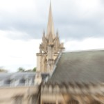 Exeter College roof