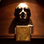 Tolkein Bust at Exeter College