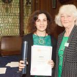 Mónica Teixeira, Award
