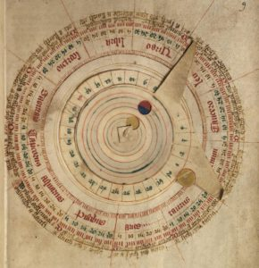 a_volvella_of_the_moon-_a_volvella_is_a_moveable_device_for_working_out_the_position_of_the_sun_and_moon_in_the_zodiac-creative-commons-cc -0-universal-public-domain-dedication
