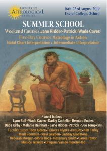 Summer School 2019 | Faculty of Astrological Studies