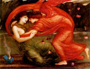 burne jones cupid psyche