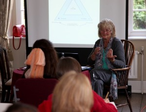 SS 2014 Clare Martin teaching