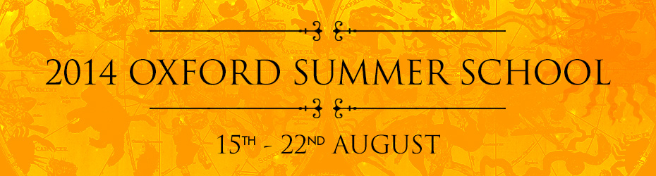 2014 Oxford Summer School