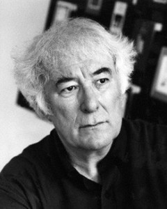 NPG x88253; Seamus Heaney by Mark Gerson