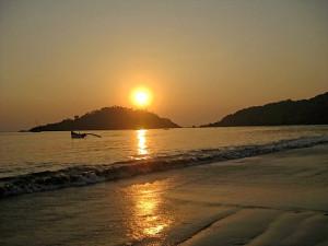 india Goa evening