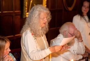 Melanie Reinhart SS 2014 Gala dinner reading