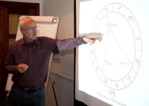 Mike Harding teaching